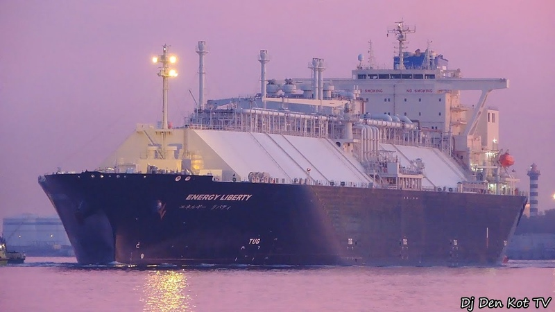 ENERGY LIBERTY LNG Tanker in Klaipeda Port
