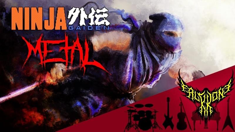 Ninja Gaiden III NES Stage 1 1 5 1 Intense Symphonic Metal Cover