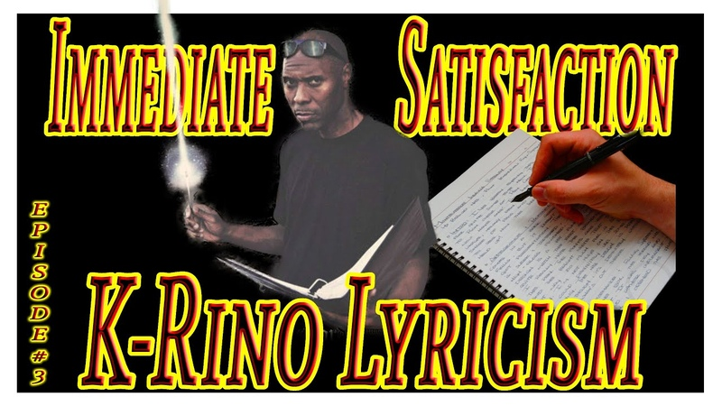 Immediate Satisfaction K rino Lyricism Deeper Elevation Episode 3 Reaction Lyrics Lyrical Music Rap
