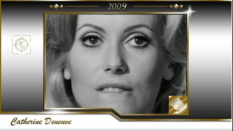 Catherine Deneuve belle et bien la 2009 Кумиры и Звезды Катрин Денев