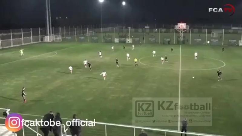 Сольный проход Абата Аймбетова и точный удар в ворота грузин! 💪🏻⚽ Шикарный пас от Асланбека Какимова 👏🏻👏🏻👏🏻