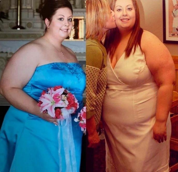 Женщина решила похудеть, когда сын начал над ней насмехаться.