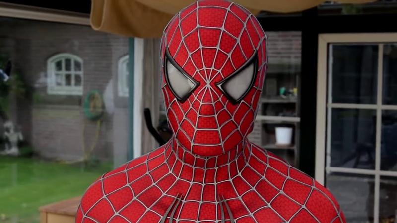Настоящий костюм как у Человека Паука Spider Man Costume Replica