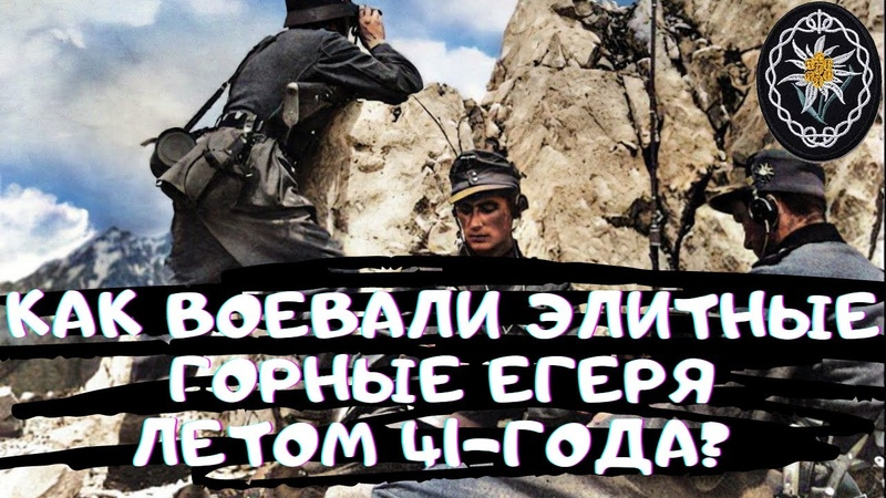 1 я горнопехотная дивизия Вермахта в боях от границы до Линии Сталина июнь июль 1941 года