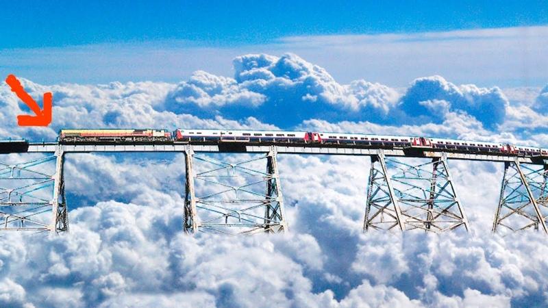 Самые невероятные и опасные железные дороги мира от которых дух захватывает