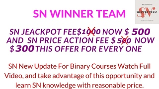 Let's Talk About US | SN WINNER TEAM | SN Trading Style | Real Knowledge Provider Only One The SN |