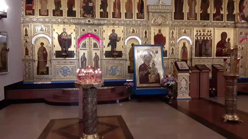 Отдание Вознесения Господня Божественная литургия Пятница