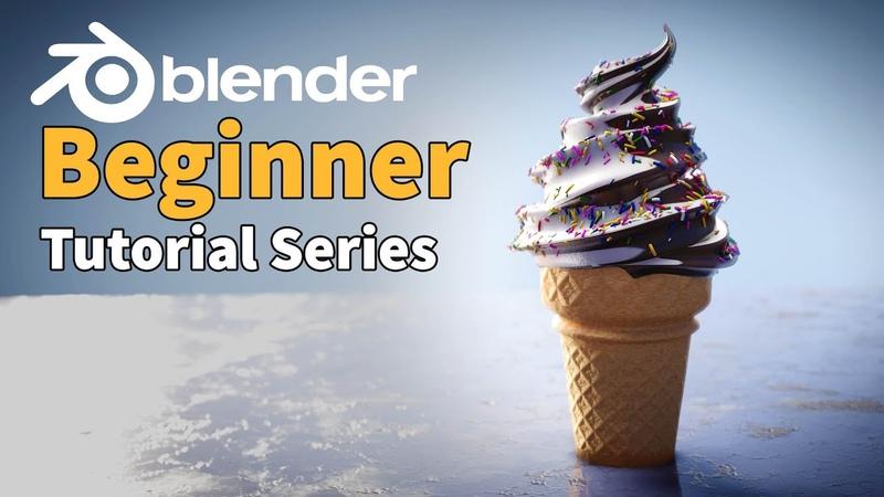Blender 2.8 Beginner Tutorial - Part 1 3D Basics