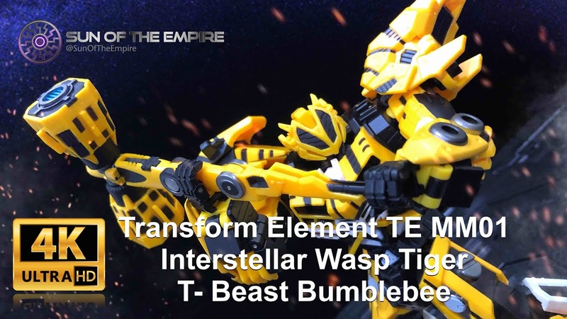 [SimplyTransform 14] Transform Element TE MM01 Wasp Tiger | T- Beast Bumblebee (Beast to Robo)