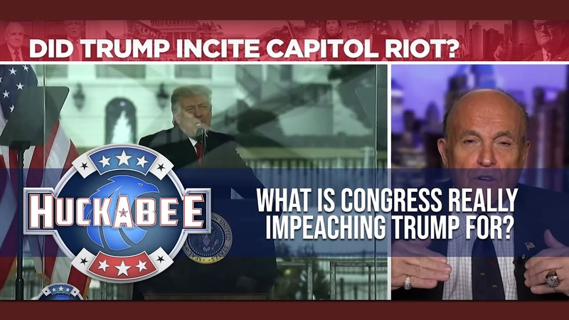 What Is Congress Really IMPEACHING Trump For Rudy Giuliani Huckabee