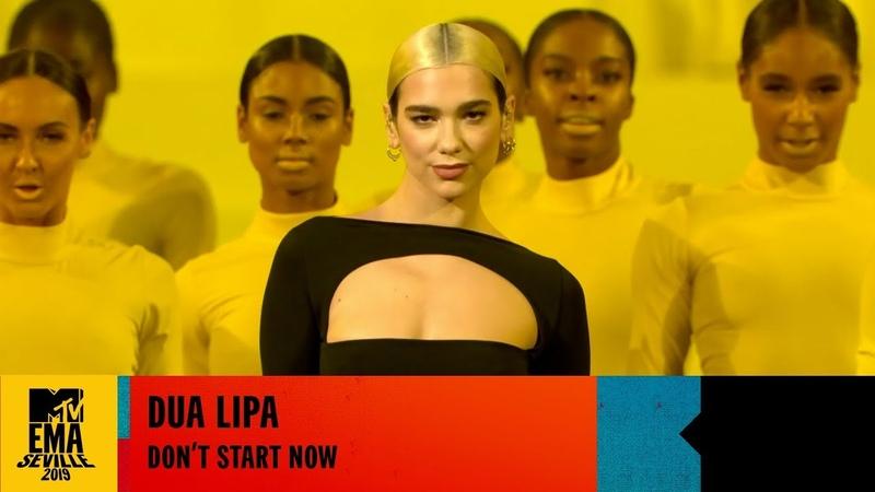 Dua Lipa Don't Start Now LIVE at the 2019 MTV EMAs