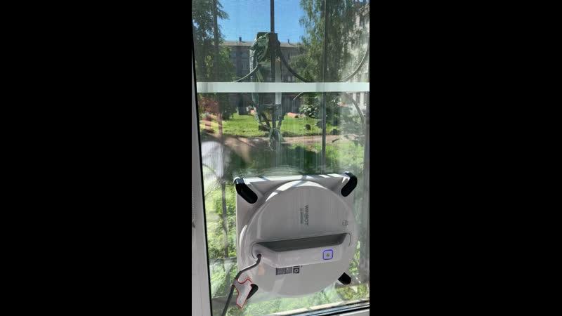 Новый робот мойщик квадратный Winbot