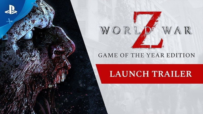 World War Z | GOTY Edition Launch Trailer | PS4
