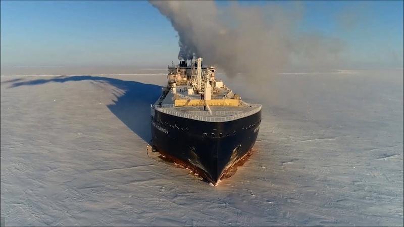 商船三井 砕氷LNG船 Yamal LNG Project Extreme Ice Breaking LNG Carrier MOL's Arctic Activities
