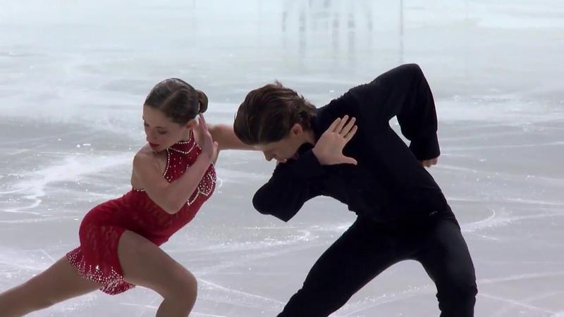 Brown Oona Brown Gage США ISU Гран При юниоры 2018 Каунас Ритм танец танцы на льду