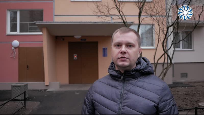 Капитальный ремонт домов на Хлопина и Брянцева
