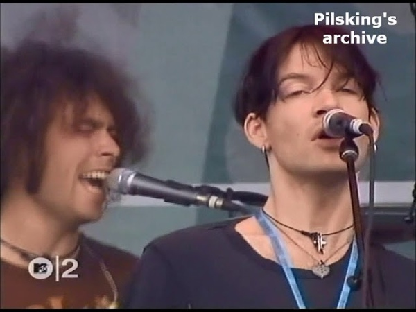 The Dandy Warhols Bohemian Like You Live Rock Werchter 2001 w extra guitarist