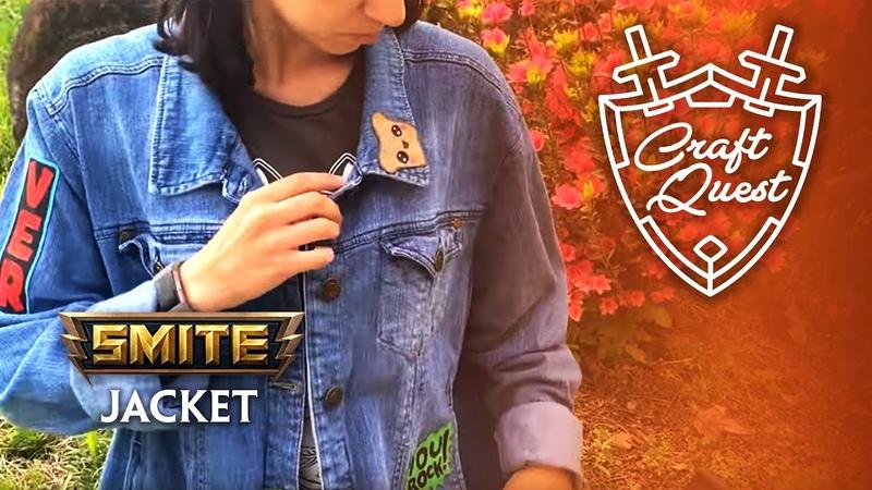 SMITE Craft Quest 3 Custom SMITE Jacket