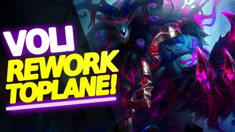 IL REWORK DI VOLIBEAR IN TOP LANE 🔥 Il suo ruolo migliore League of Legends ita