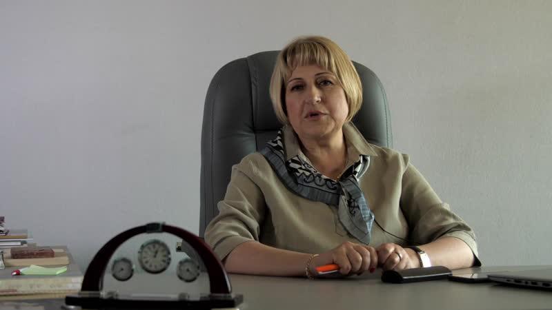 Видеообращение председателя Совета Союза реставраторов Санкт Петербурга Нины Николаевны Шангиной