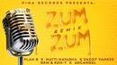 Zum Zum (Remix) 🐝🍯 - Plan B, Natti Natasha, Daddy Yankee, Rkm Ken-Y, Arcangel [Lyric Video]