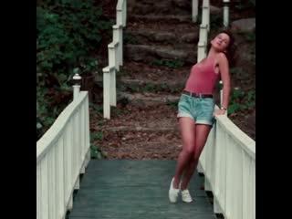 """Дженнифер Грей в """"Грязных танцах"""", 1987"""