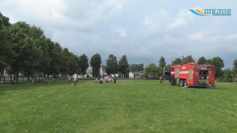 Рэспубліканская акцыя МНС «Канікулы без дыму і агню!» распачалася ў Шклове