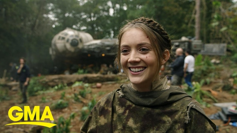 Billie Lourd talks about her mom Carrie Fisher in new 'Star Wars' documentary l GMA