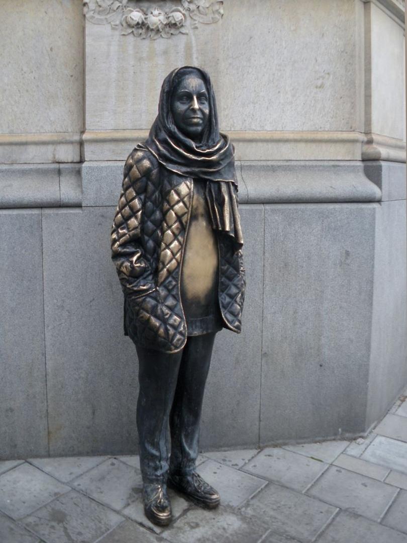 Памятник Маргарете Круук