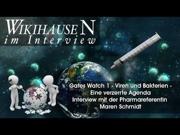 Gates Watch 01 Viren Bakterien eine verzerrte Agenda Maren Schmidt Wikihausen im Interview
