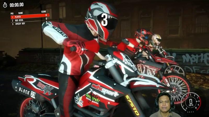 MX Nitro 11 North America Tour Part 1 Midnight Show Looser Trail Seru Unleashed Gameplay