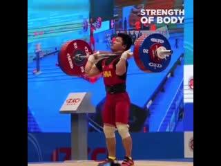 Толчок штанги 171 кг при собственном весе 61 кг sdf2