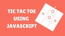 Tic Tac Toe JavaScript [Game Developer 2020]