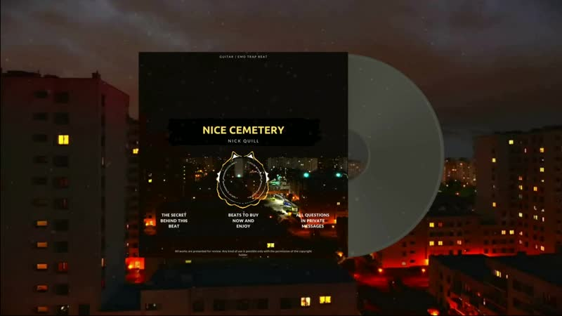 For Sale Freestyle Type Emo Trap Beat 2020 Nice cemetery Prod by Nick Quill