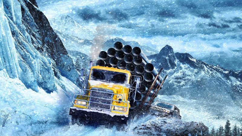 SnowRunner ➤ Аляска завершаю Готовность к таймыру 99% ➤ 21