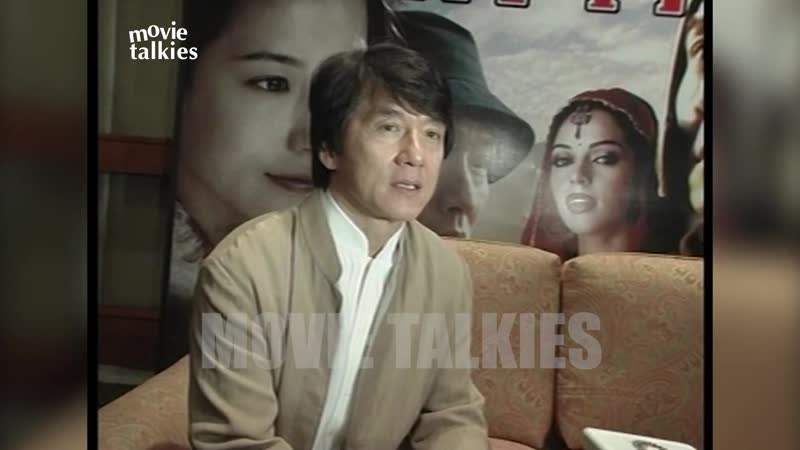 Flashback JACKIE CHAN With DESI Hottie MALLIKA SHERAWAT The Myth EXCLUSIVE INTERVIEW