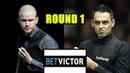Ronnie OSullivan vs Robbie Williams - Welsh Open Snooker 2021 Round 1 Full Match
