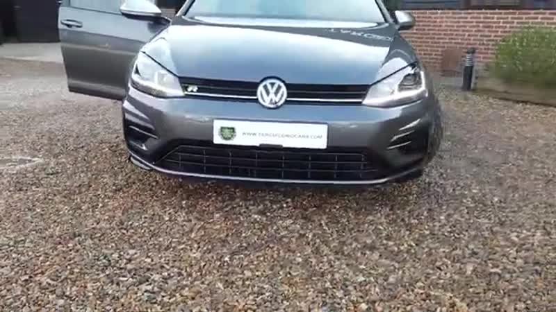 VW Golf R 2.0TSI 4Motion DSG 5 Door Hatchback Finished in Indium Grey 2017