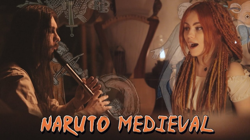 Naruto Main Theme Medieval Style Cover by Alina Gingertail Dryante Bardcore