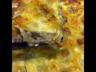 Пирог Ленивая жена, Вкусный и быстрый в приготовлении#