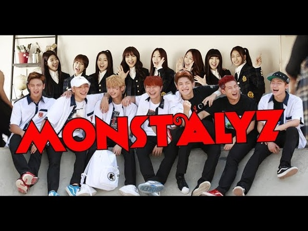 FMV MONSTALYZ MONSTA X AND LOVELYZ'S Interactions Fanboying Fangirling Moments