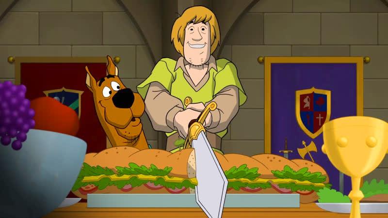 Скуби-Ду при дворе короля Артура 2021