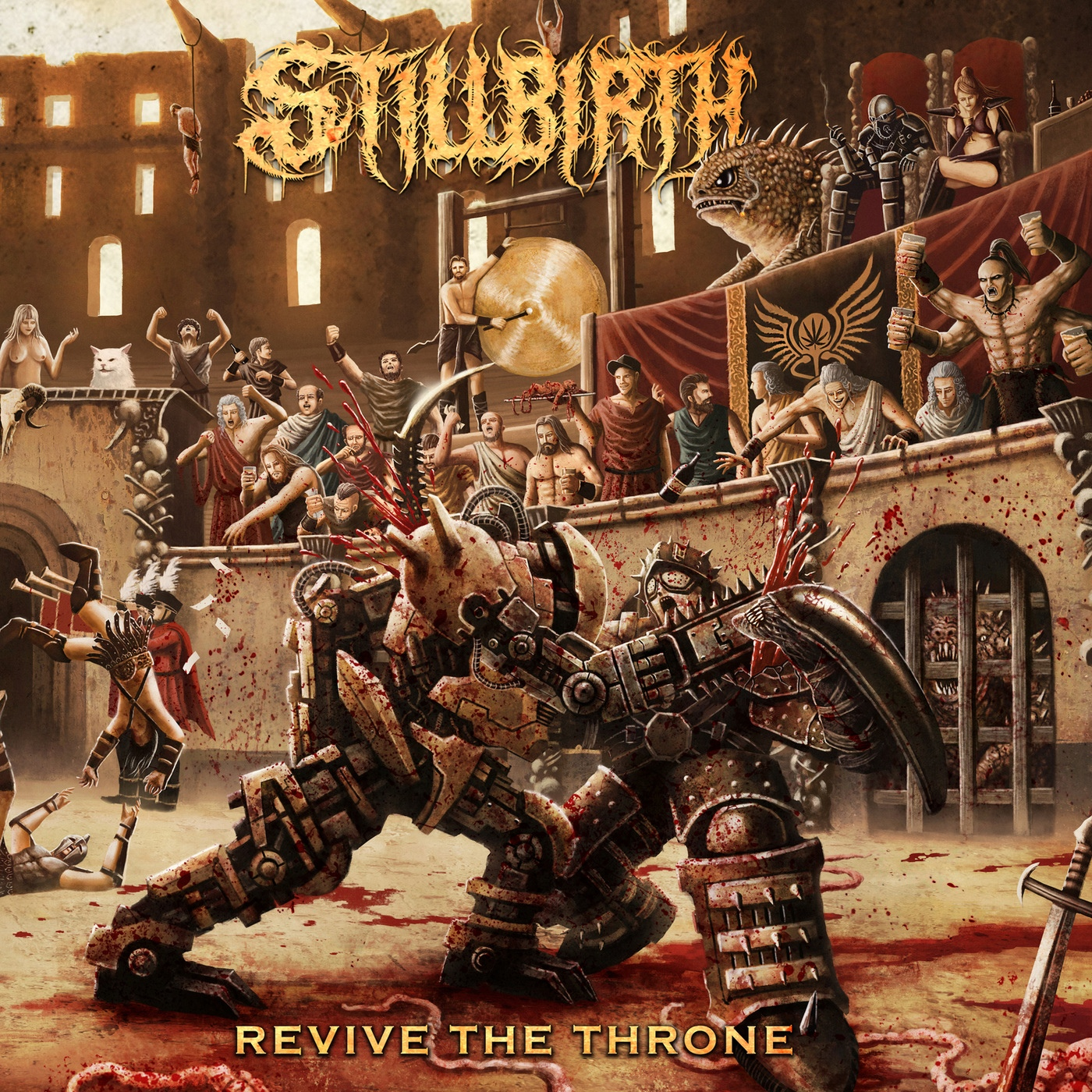 Stillbirth - Revive the Throne [single] (2020)