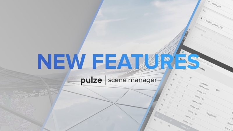 Pulze Scene Manager 1 1 Update