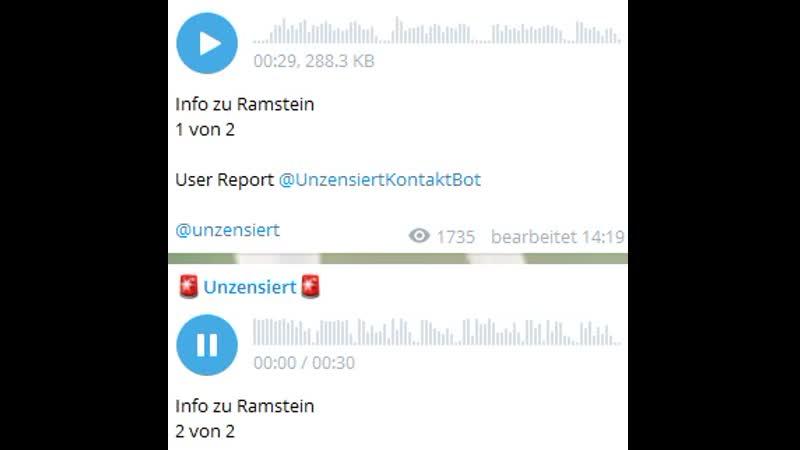 Info zu Ramstein