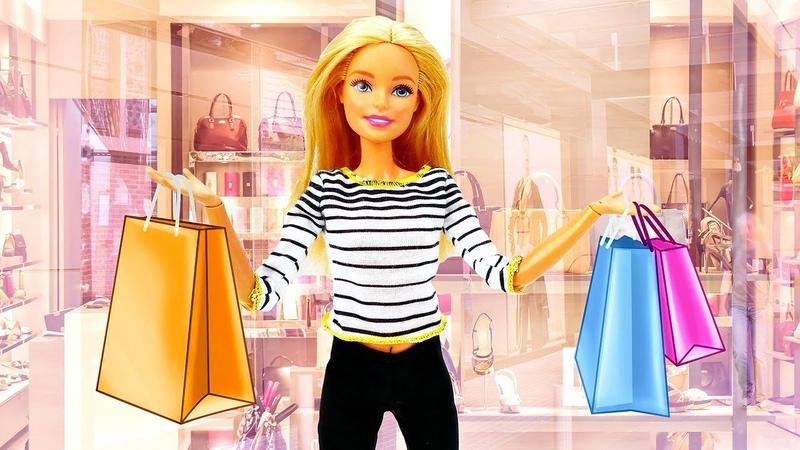 Video e giochi divertenti Barbie compra i vestiti nuovi Nuovi episodi in italiano