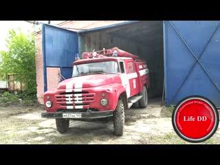 В Самарской области спасатели, состоящие из добровольцев, за свои деньги купили пожарную машину