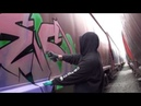 GRAFFITI - LIVE IN THE TRAIN YARD! Real Time Audio Video with Big Miles SDK - Canada