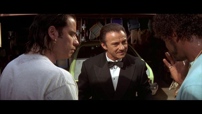 Мистер Вульф Винсент и Джулс отвозят машину с трупом на автосвалку HD