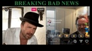 Aaron Paul Bryan Cranston Live on Instagram Breaking Bad News Better Call Saul Cameo